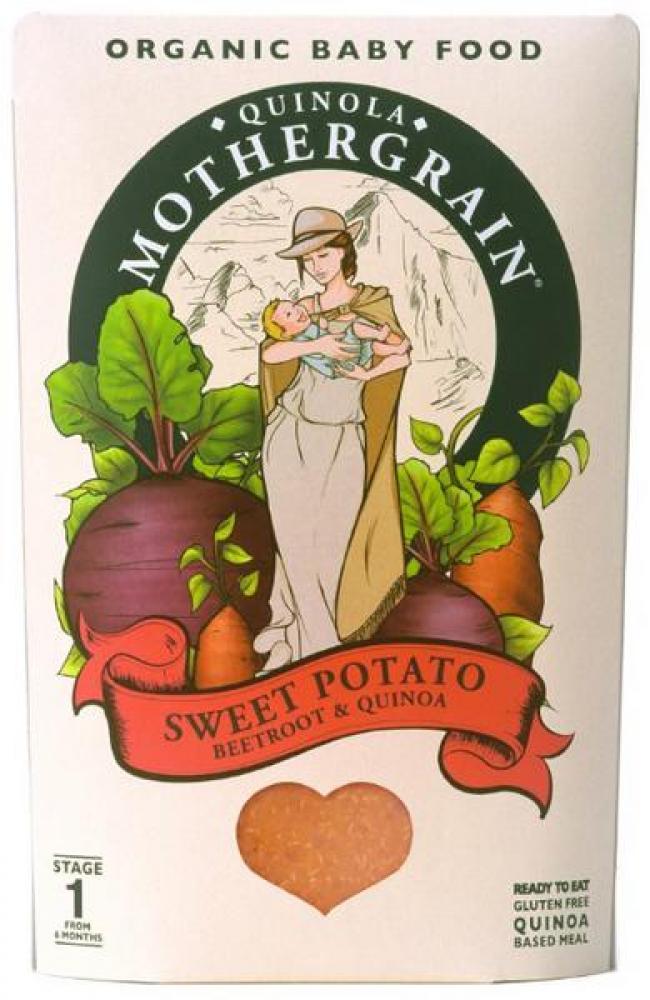Quinola Mothergrain Baby Sweet Potato 190g