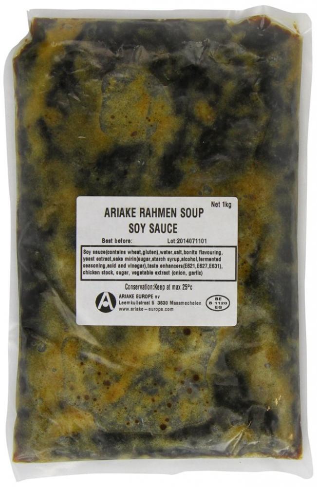 Ariake Ramen Soy Flavour Soup Sauce 1kg