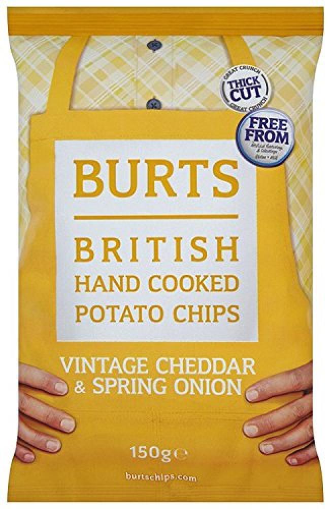 Burts Potato Chips Mature Cheddar 150 g