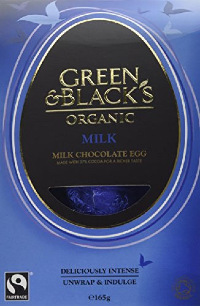 Green and Blacks Organic Milk Chocolate Egg 165g