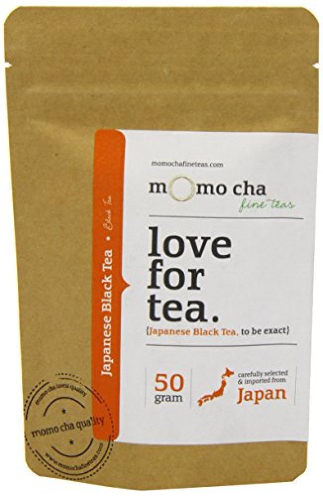 Momo Cha Fine Teas Japanese Black Tea 50g