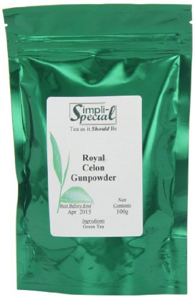 Simpli-Special  Royal Ceylon Gunpowder Luxury Loose Leaf Tea 100 g