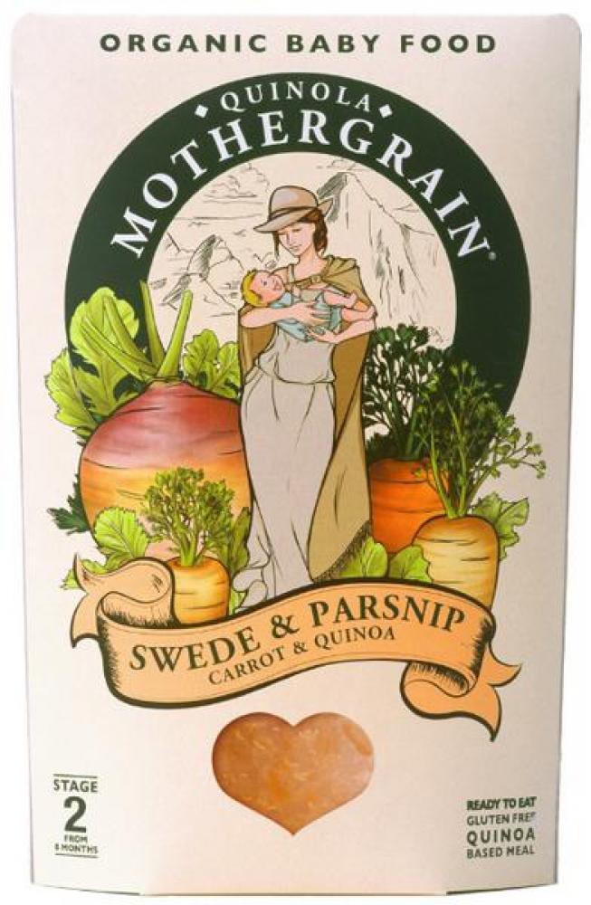 Quinola Mothergrain Baby Swede and Parsnip 190g