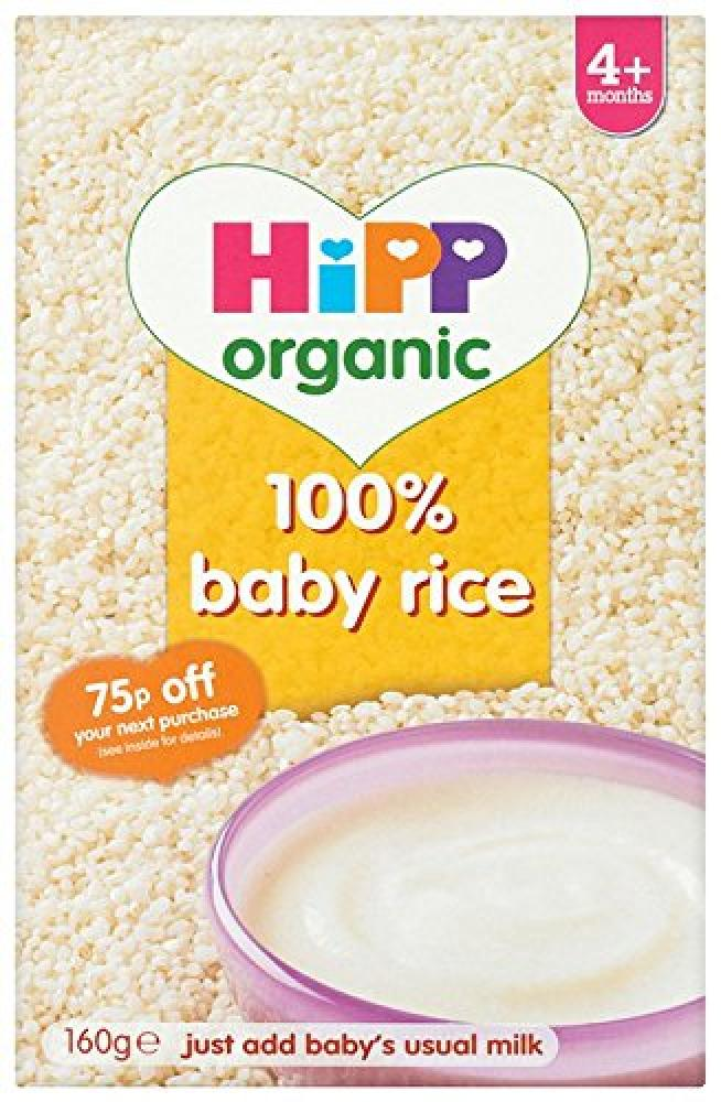 HiPP Organic 100 Baby Rice from 4 Months 160g