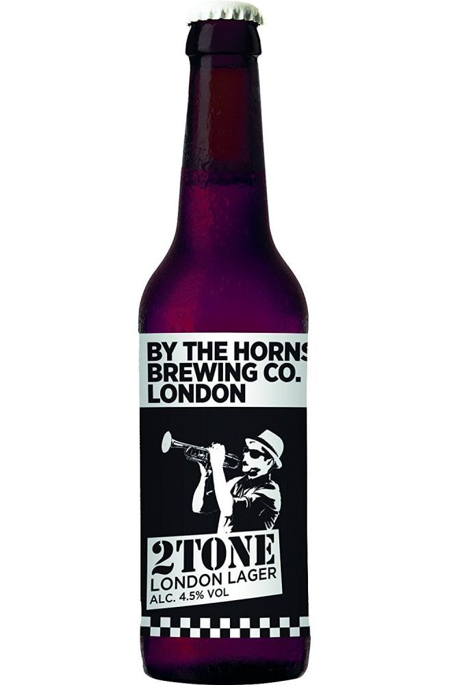 By The Horns Brewing 2Tone London Lager 330ml