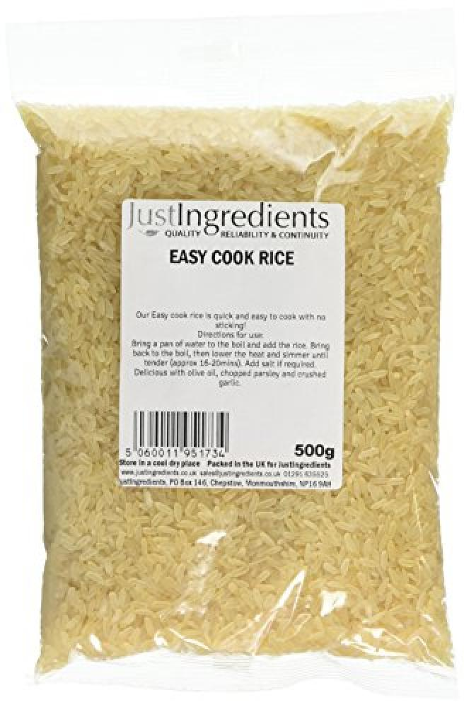 JustIngredients Essential Easy Cook Rice 500 g
