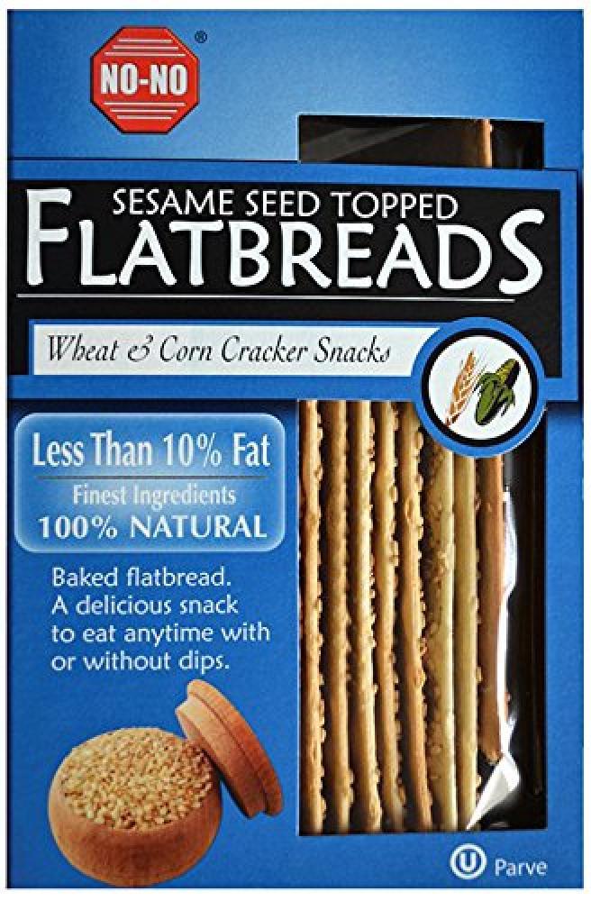 No-No Flatbread Sesame 125 g