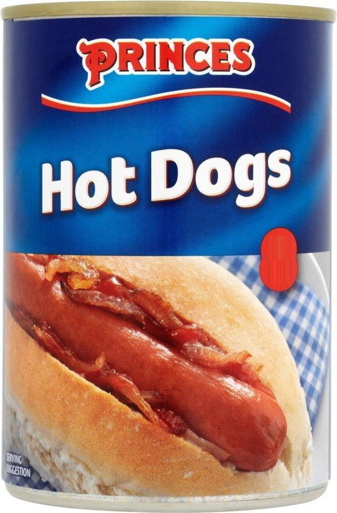 Princes 6 Hot Dogs 400g