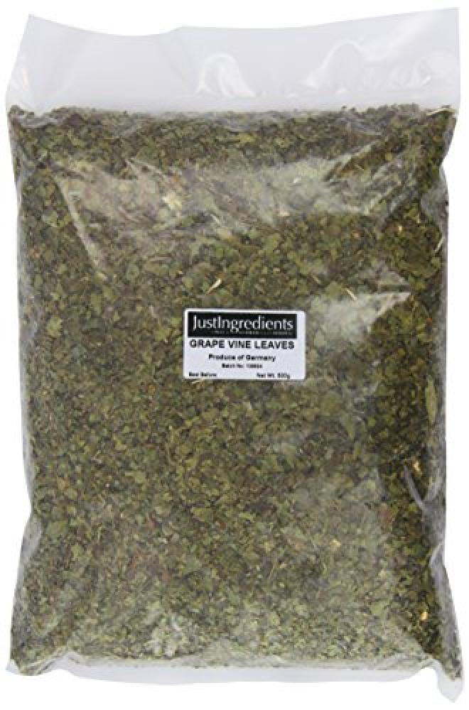 JustIngredients Essential Grape Vine Leaves 500 g