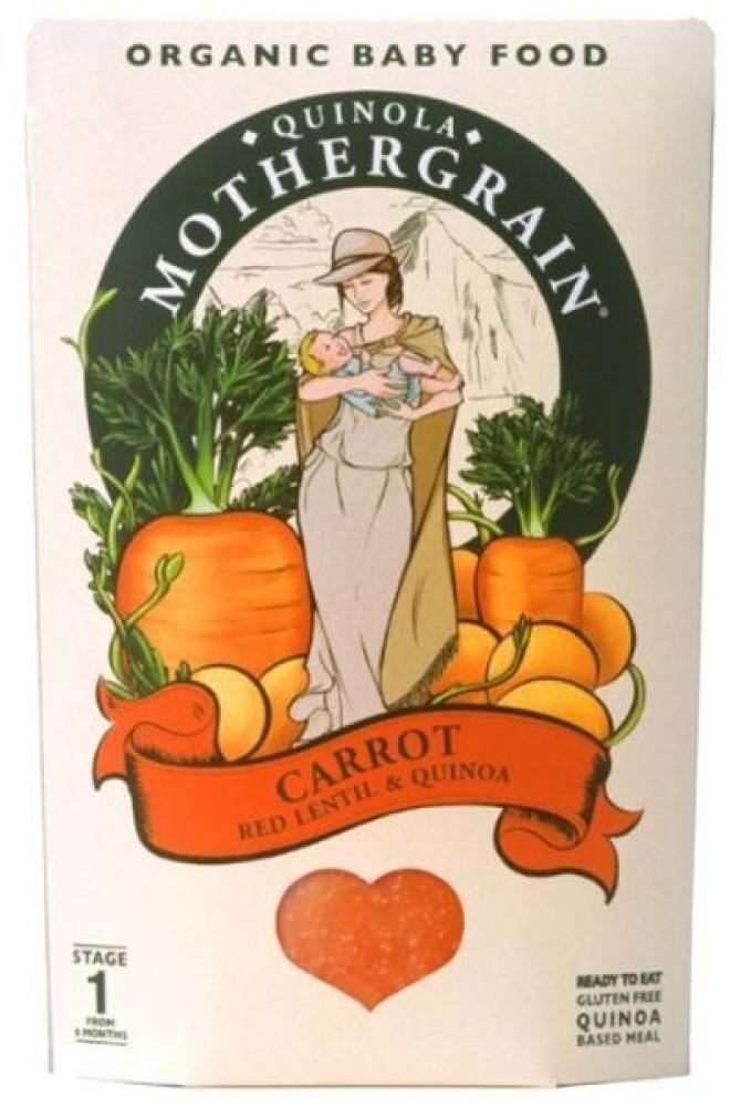 Quinola Mothergrain Baby Carrot 190g