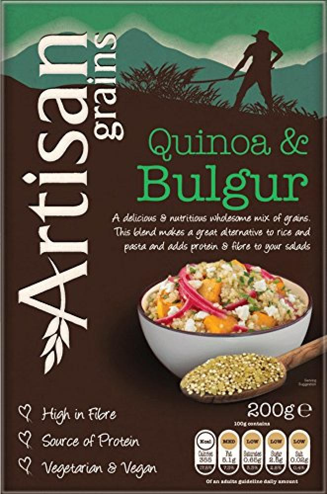 Artisan Grains Quinoa and Bulgur Mix 200 g