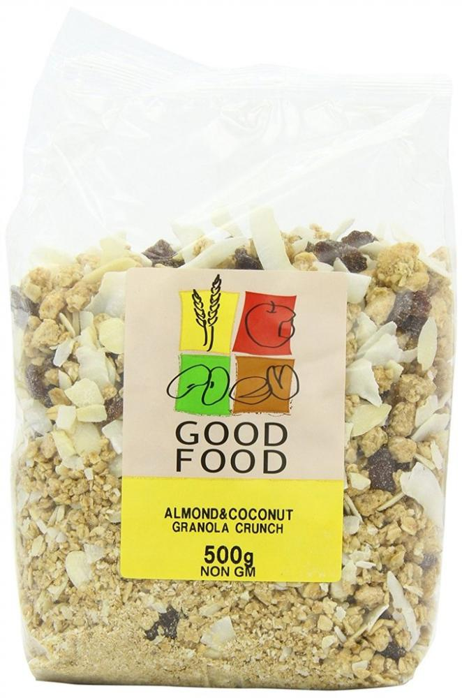 Mintons Good Food Pre-Packed Almond and Coconut Granola 500 g