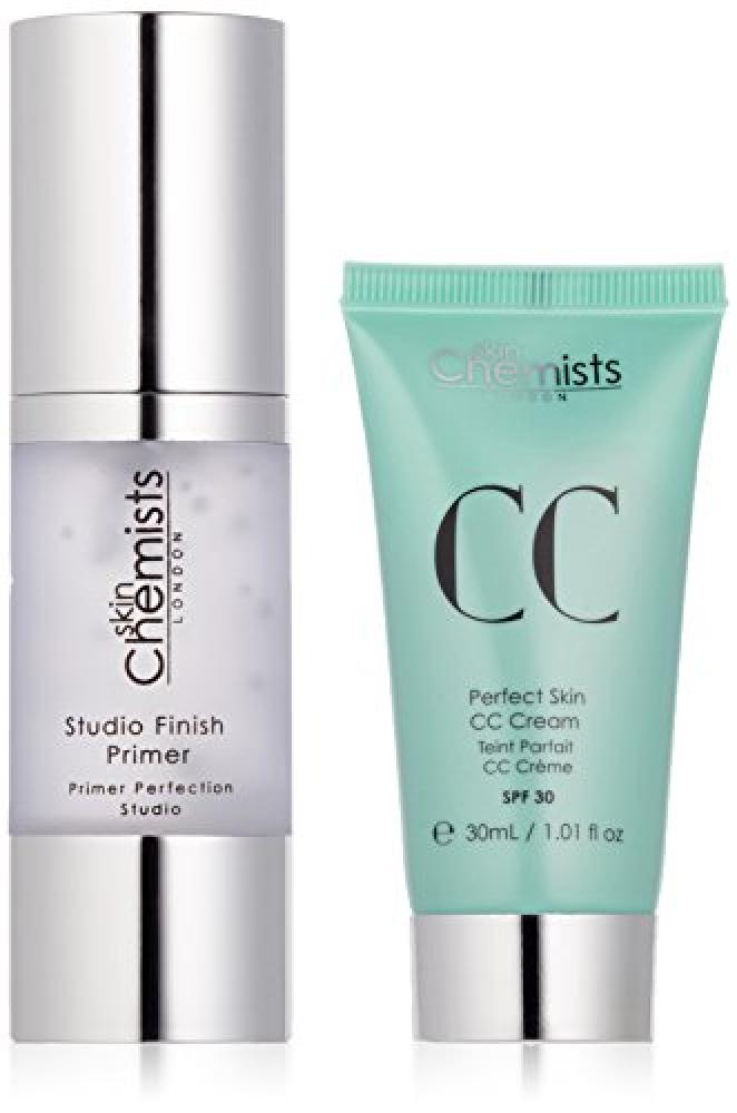 skinChemists Studio Finish Primer and Perfect Skin CC CreamMedium