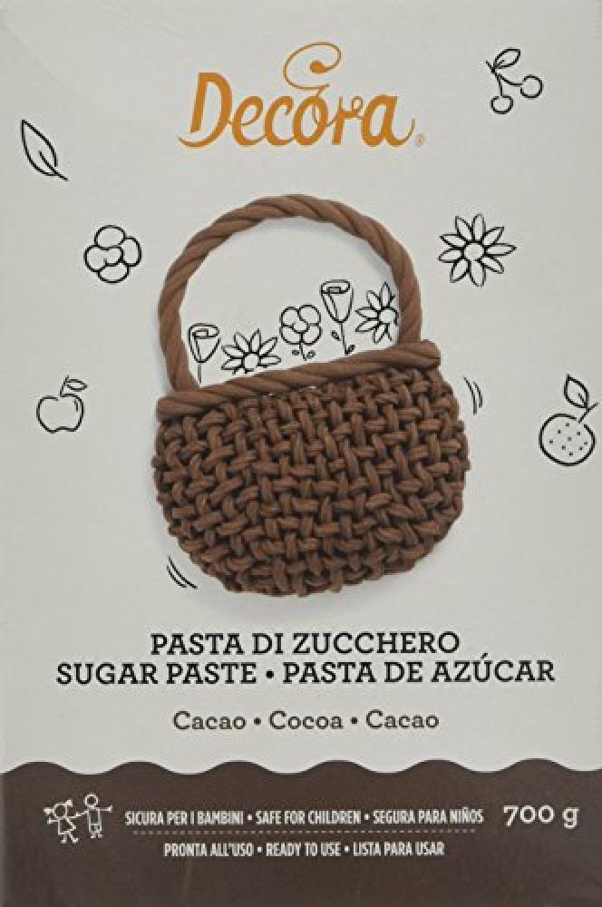 Decora Cocoa Sugar Paste 700g