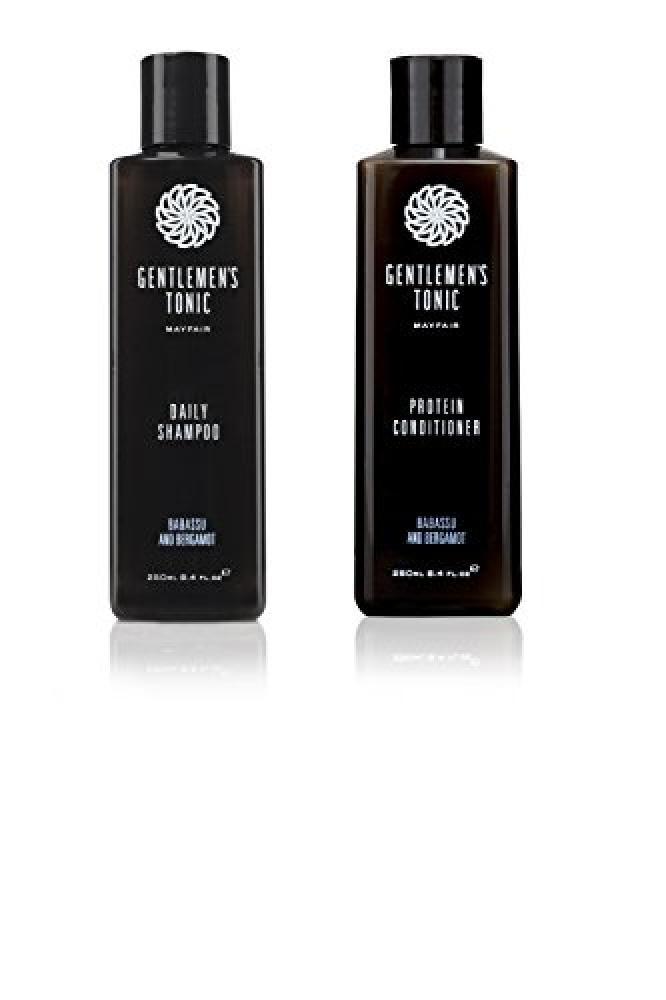 Gentlemens Tonic Daily Shampoo and Protein Conditioner 250 ml Duo Set