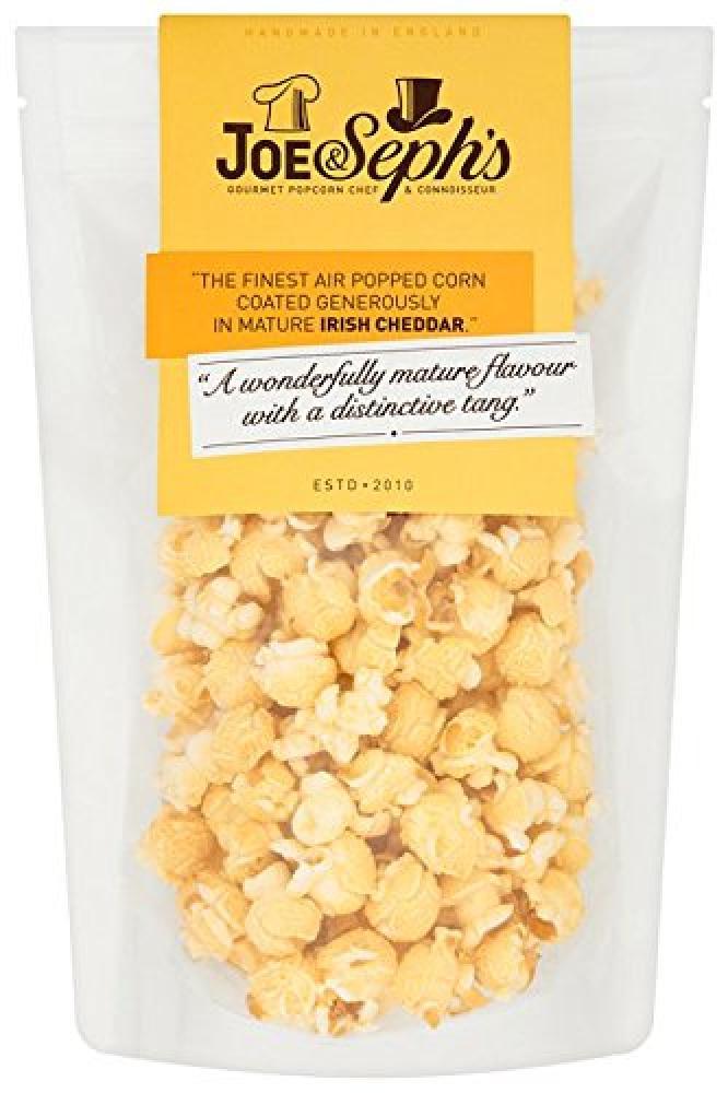 Joe and Sephs Cheddar Cheese Popcorn 90 g