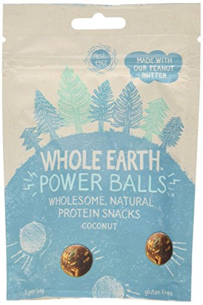 Whole Earth Power Balls - Coconut Protein Snacks 50g