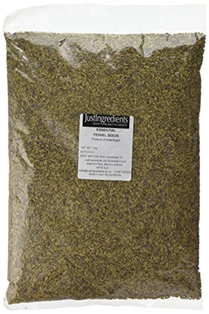 JustIngredients Essential Fennel Seeds 1kg