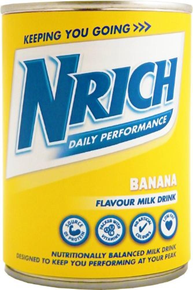 Nrich Banana Flavour Milk Drink 370 ml