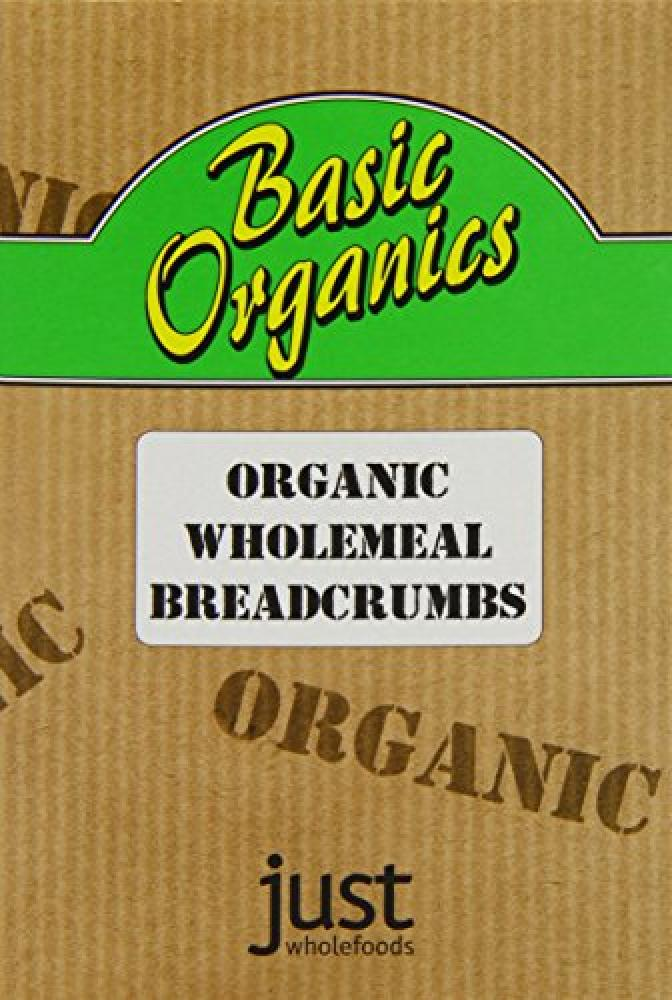 Just Wholefoods Basic Organic Wholemeal Breadcrumbs 175 g