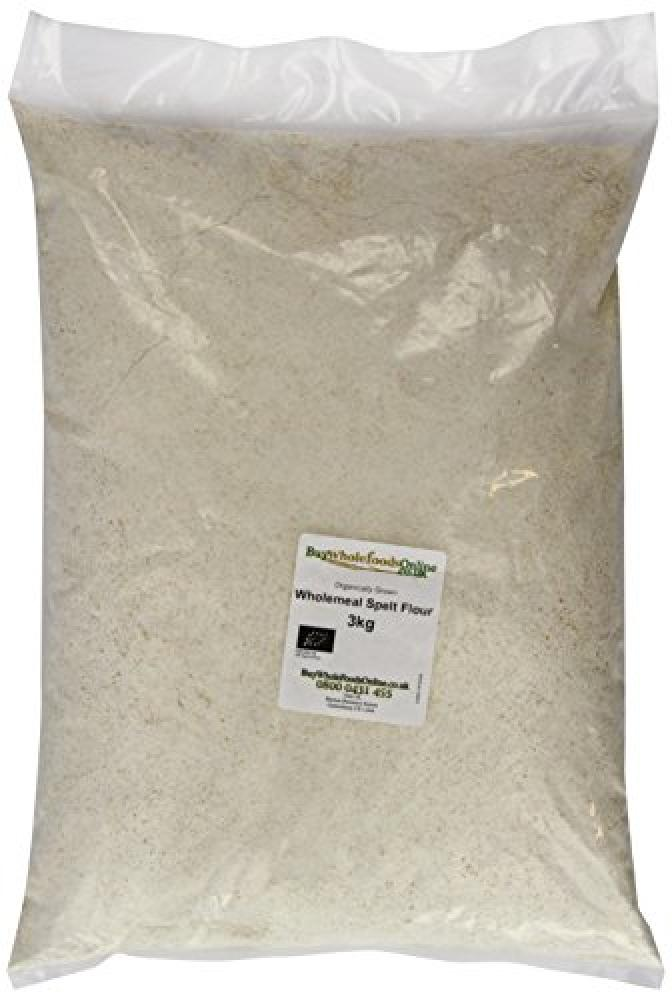 Buy Whole Foods Organic Spelt Flour Wholemeal 2.5 Kg