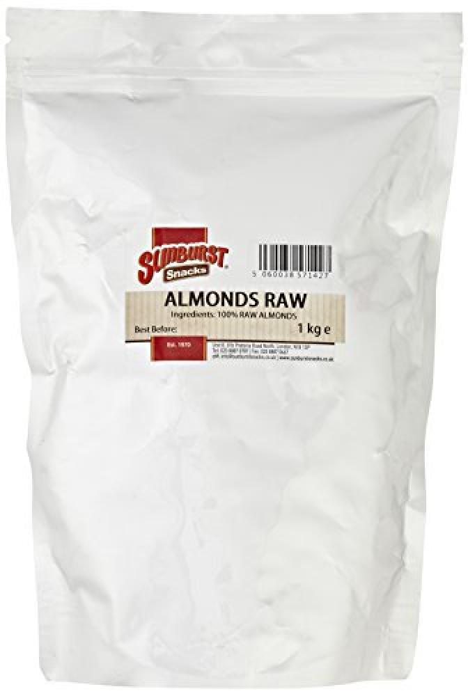 Sunburst Almonds Raw Whole and Fresh 1 kg