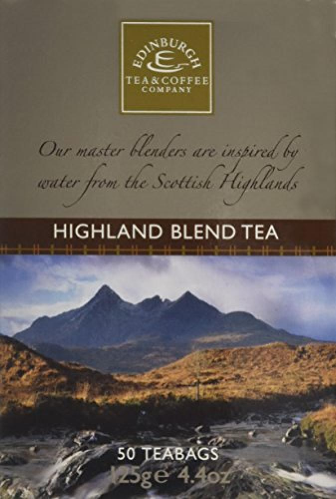 Edinburgh Tea and Coffee Company Highland Blend Tea 50 Teabags 125g