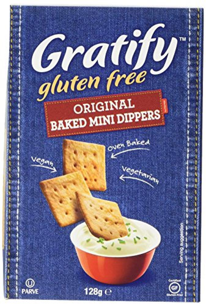 Gratify Original Baked Mini Dippers 128 g