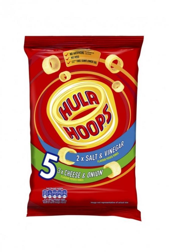 Hula Hoops Classic Variety 24g x 5