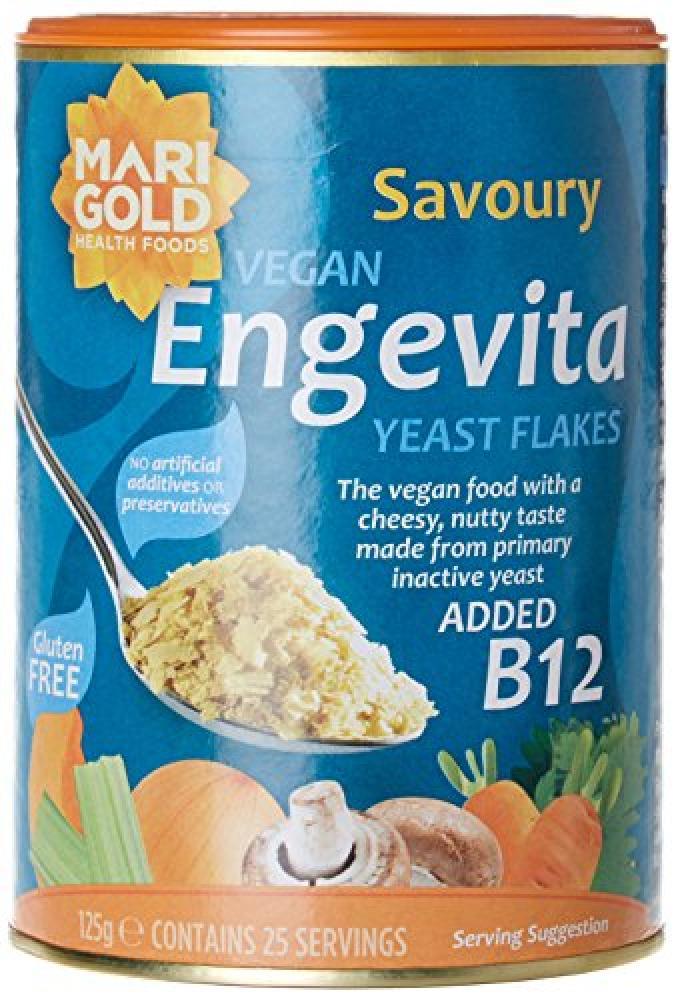 Engevita Savoury Yeast Condiment With B12 125 g