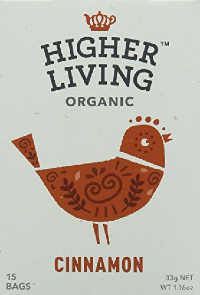 Higher Living Organic Cinnamon 15 Bags