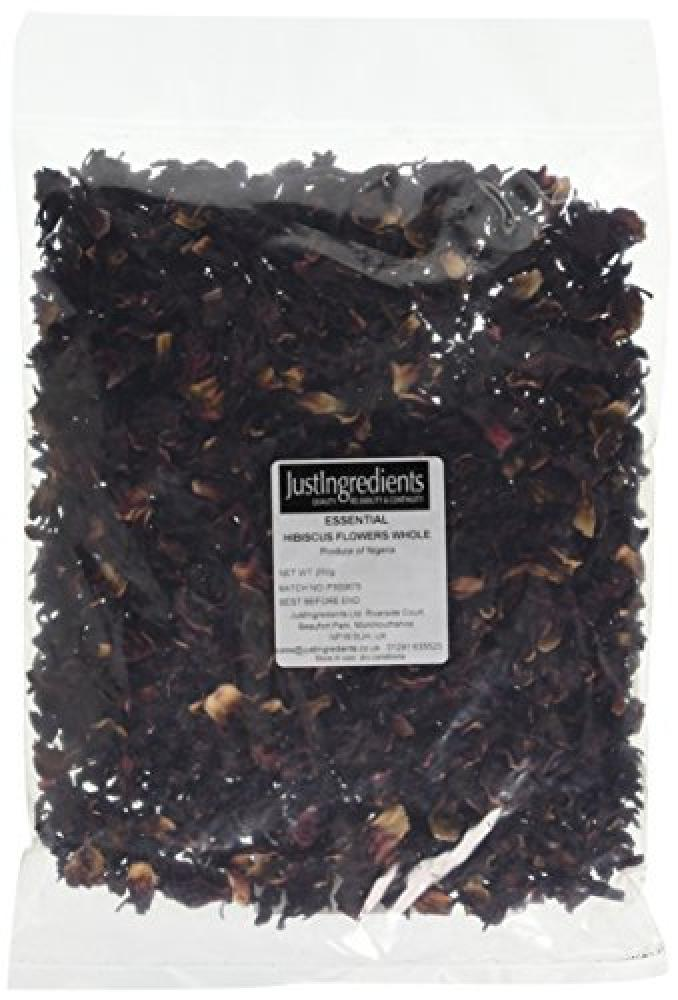 JustIngredients Essential Hibiscus Flowers Whole 250 g