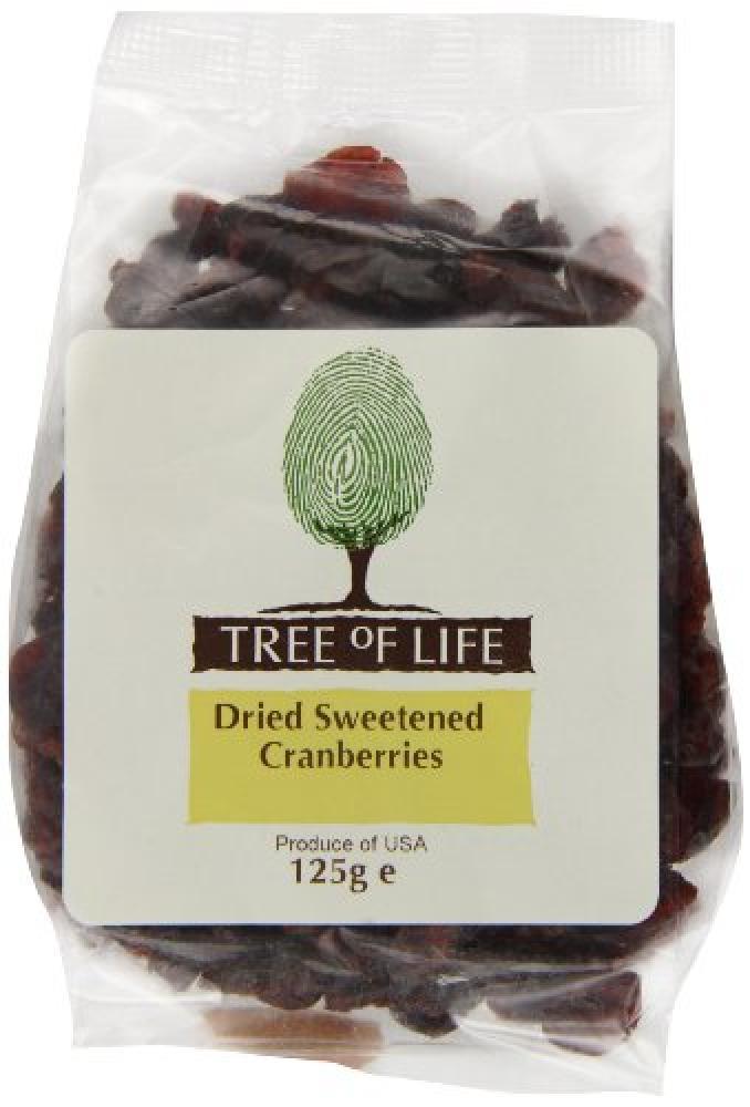 Tree Of Life Cranberries 125 g