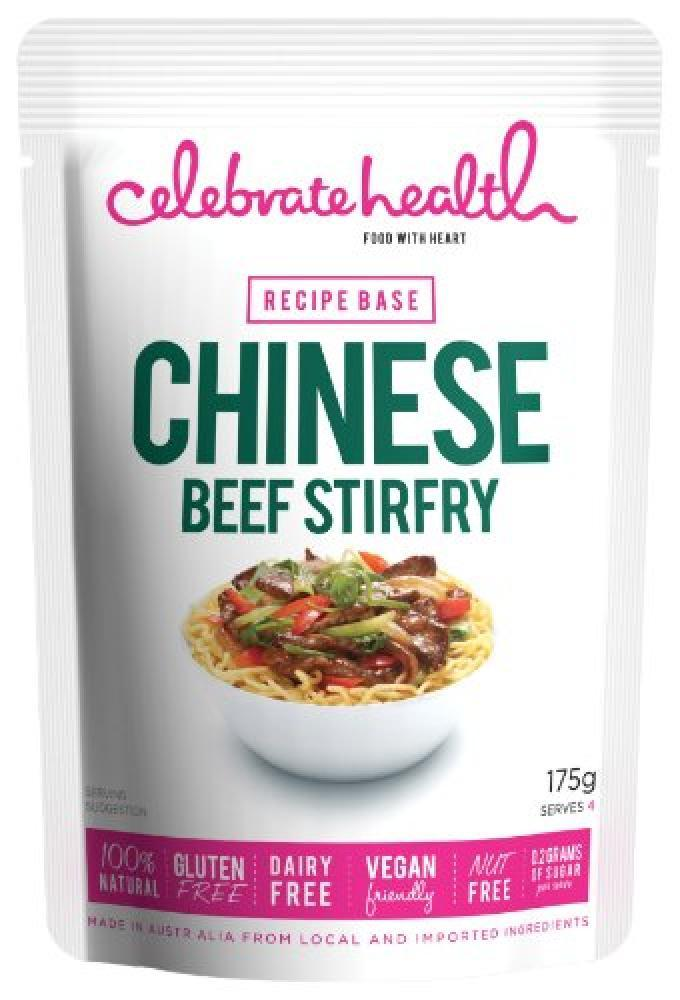 Celebrate Health Chinese Beef Stirfry Recipe Base 175g