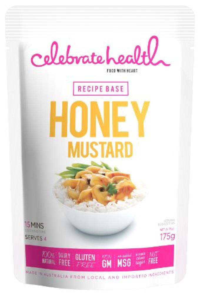 Celebrate Health Recipe Bases Honey Mustard 175 g