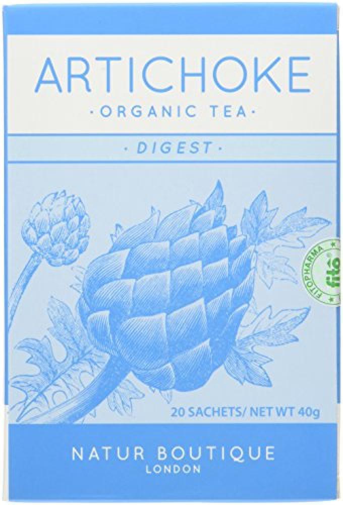 Natur Boutique Organic Artichoke Tea Sachets