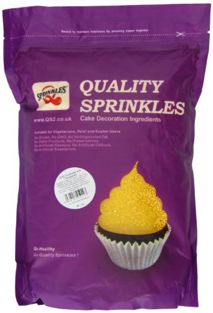 Quality Sprinkles Quality Sprinkles Gold 100s and 1000s 2kg