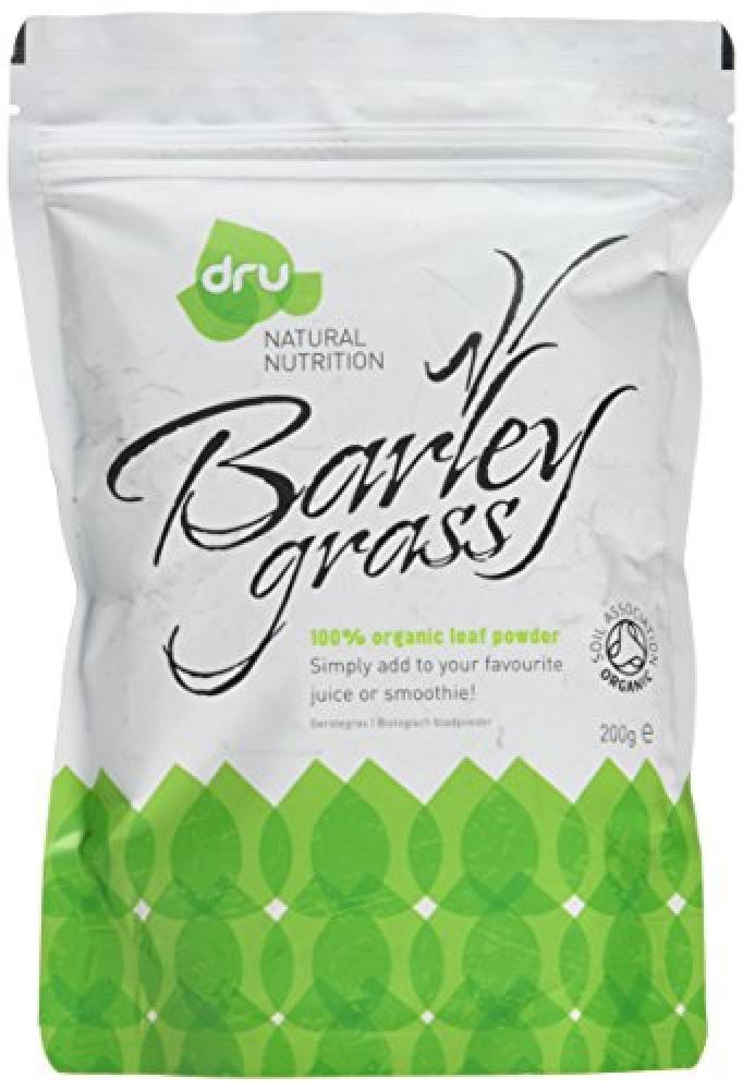 Dru Natural Foods Organic Barley Grass Powder 200 g