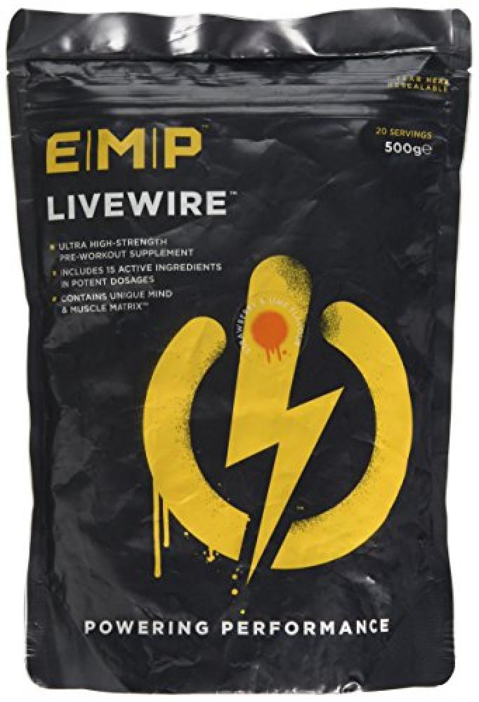 EMP Livewire Strawberry and Lemon Flavour 500g