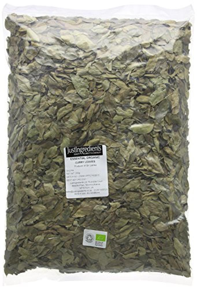 JustIngredients Essential Fairtrade Organic Curry Leaves Loose 250 g