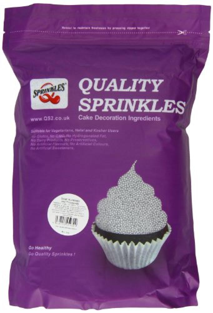 Twist Ingredients Quality Sprinkles Silver 100s and 1000s 2kg