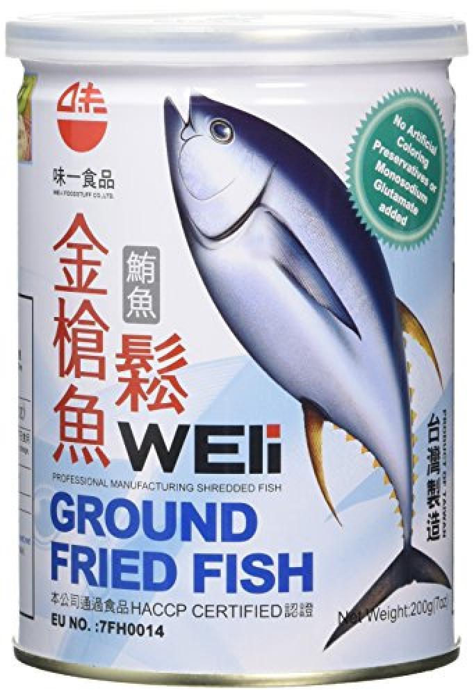 WEli Ground Fried Fish 200g