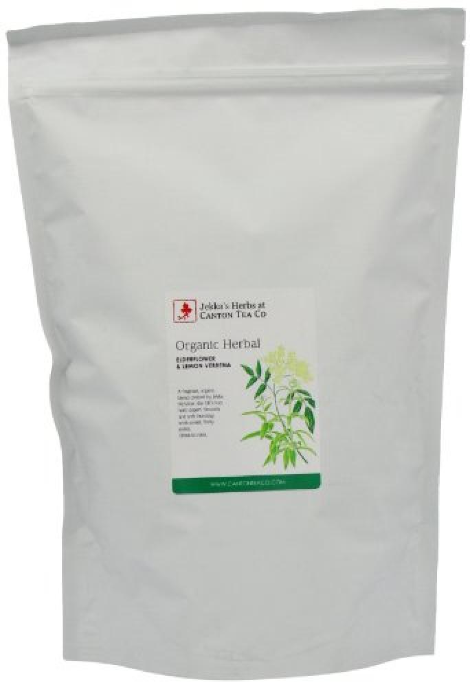 Canton Tea Jekka Lemon Verbena and Elderflower Refill (Organic) 250g