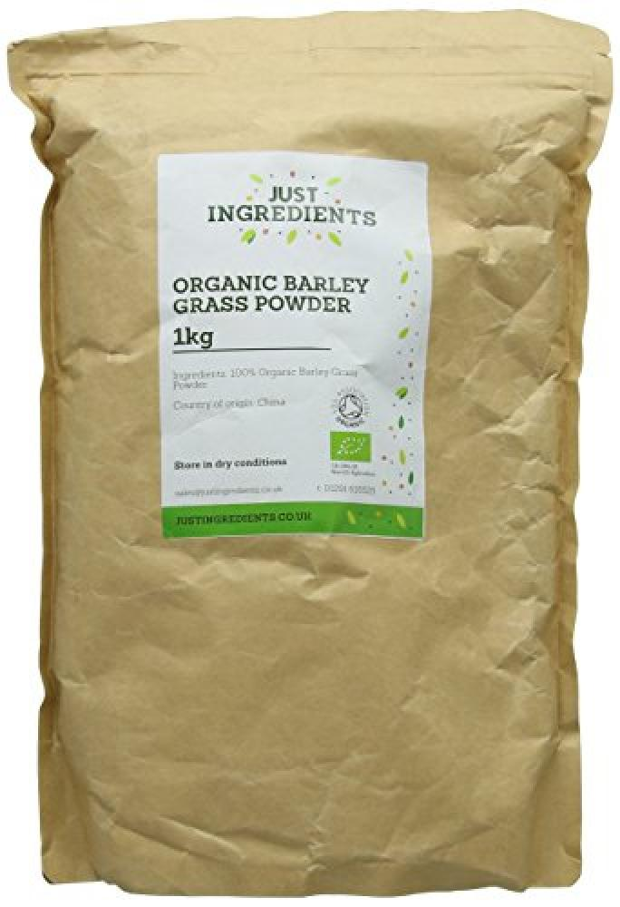 JustIngredients Organic Barley Grass Powder 1Kg