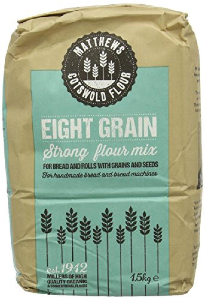 Matthews Cotswold Flour Eight Grain Strong Flour Mix 1.5kg