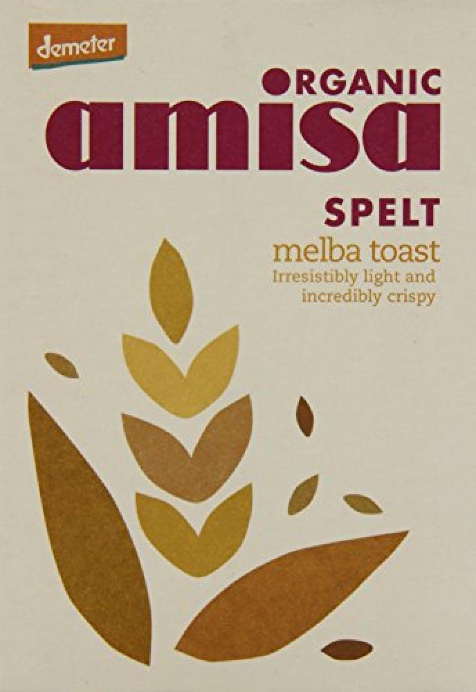 Amisa Organic Spelt Melba Toasts 200g