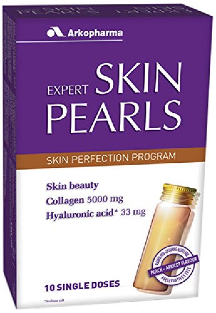 Arkopharma Expert Skin Pearl Collagen Capsules Pack of 10