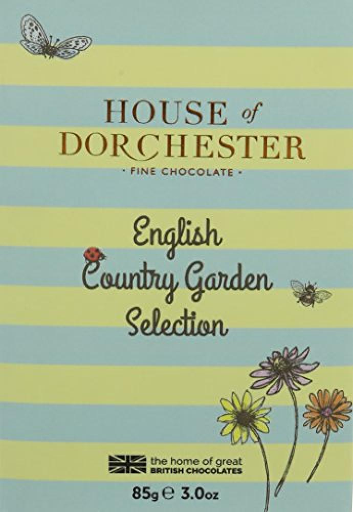 House Of Dorchester English Country Garden Selection Chocolate 85 g