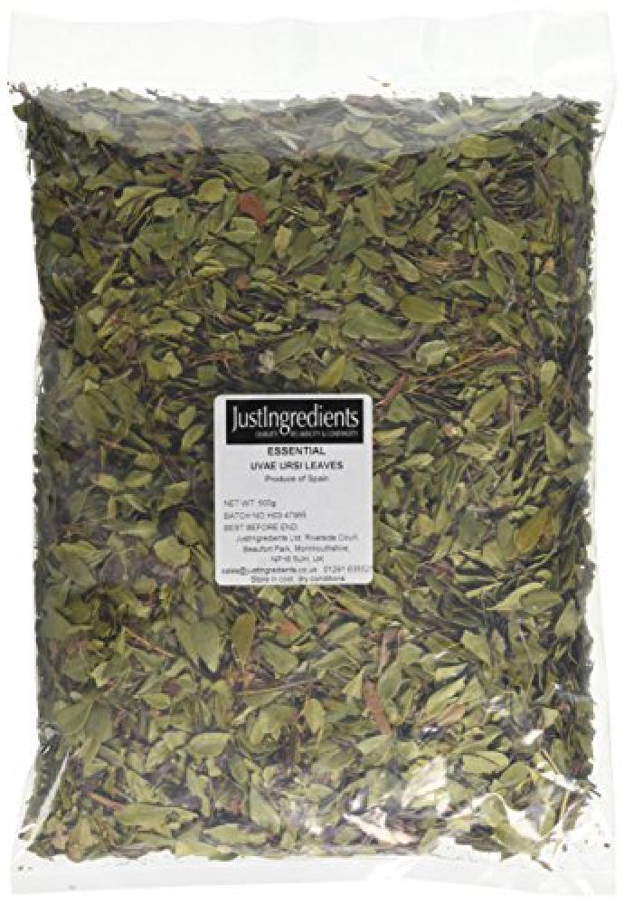 JustIngredients Essential Uvae Ursi Leaves 500 g