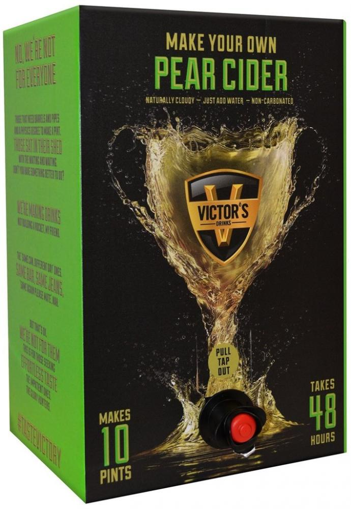 Victors Drinks Pear Cider 10 Pint Kit